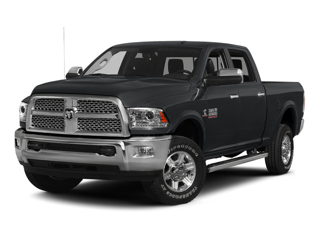 Granite Crystal Metallic Clearcoat 2015 Ram Truck 2500 Pictures 2500 Crew Cab SLT 4WD photos front view
