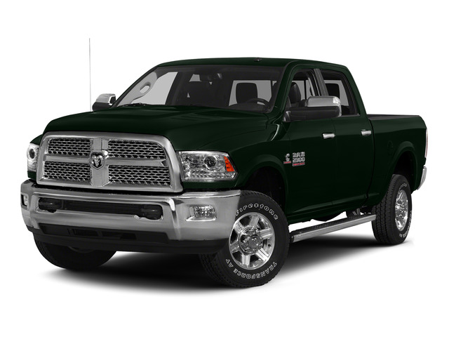 Black Forest Green Pearlcoat 2015 Ram Truck 2500 Pictures 2500 Crew Cab SLT 2WD photos front view