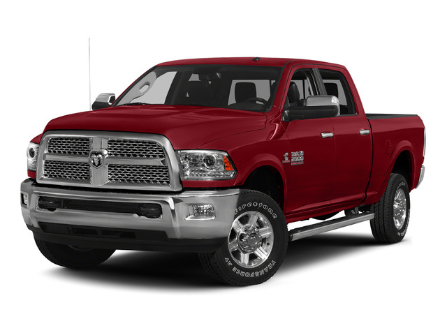 Flame Red Clearcoat 2015 Ram Truck 2500 Pictures 2500 Crew Cab SLT 2WD photos front view