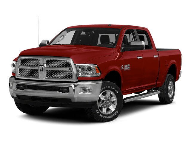 Flame Red Clearcoat 2015 Ram Truck 2500 Pictures 2500 Crew Cab Tradesman 4WD photos front view
