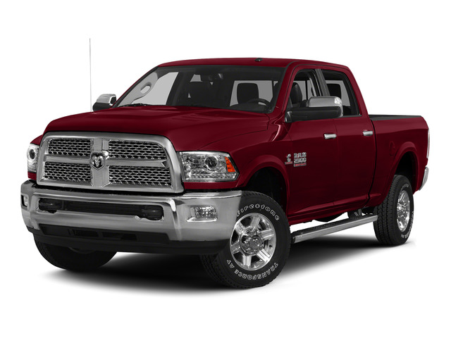 Deep Cherry Red Crystal Pearlcoat 2015 Ram Truck 2500 Pictures 2500 Crew Cab Tradesman 4WD photos front view
