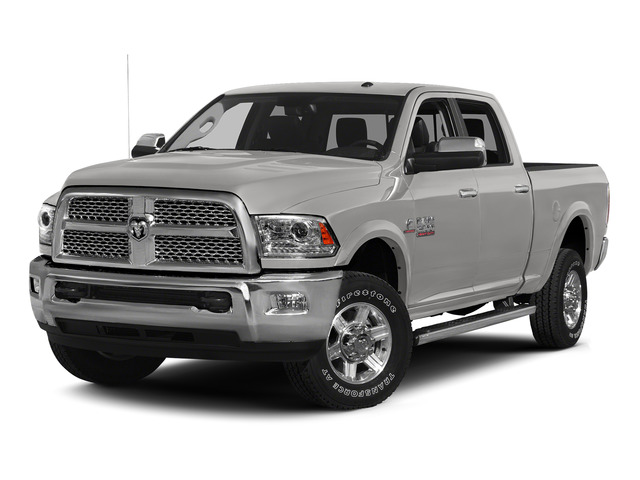 Bright Silver Metallic Clearcoat 2015 Ram Truck 2500 Pictures 2500 Crew Cab SLT 4WD photos front view