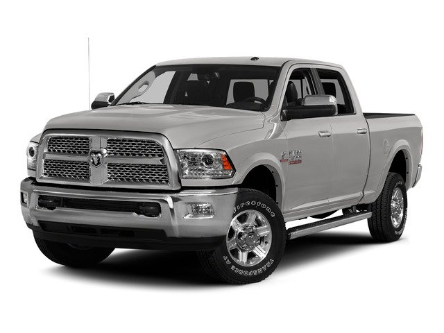 Bright Silver Metallic Clearcoat 2015 Ram Truck 2500 Pictures 2500 Crew Cab SLT 2WD photos front view