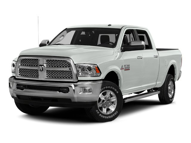 Bright White Clearcoat 2015 Ram Truck 2500 Pictures 2500 Crew Cab SLT 4WD photos front view