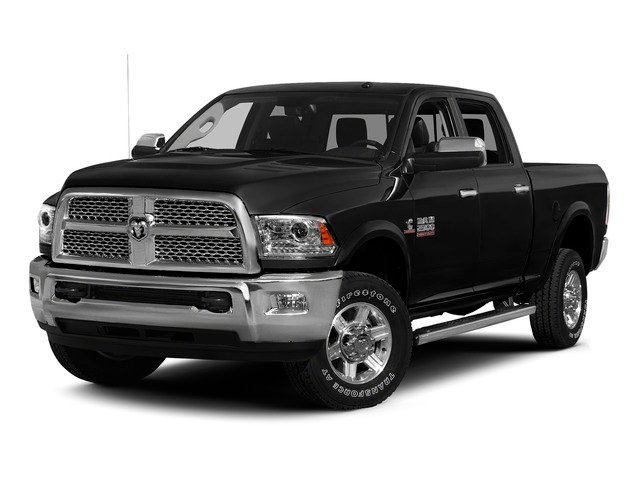 Brilliant Black Crystal Pearlcoat 2015 Ram Truck 2500 Pictures 2500 Crew Cab SLT 2WD photos front view