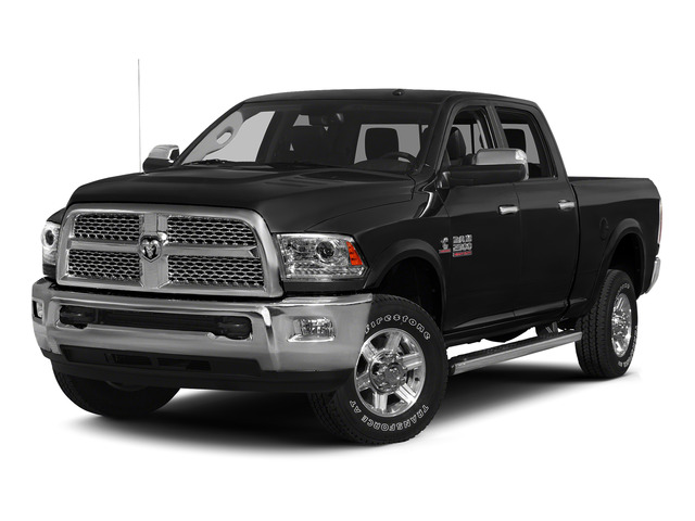 Brilliant Black Crystal Pearlcoat 2015 Ram Truck 2500 Pictures 2500 Crew Cab SLT 4WD photos front view