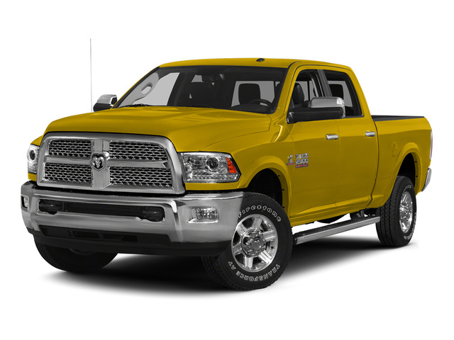 Detonator Yellow Clearcoat 2015 Ram Truck 2500 Pictures 2500 Crew Cab Tradesman 4WD photos front view