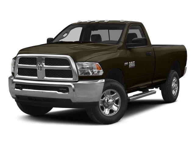 Dark Brown 2015 Ram Truck 2500 Pictures 2500 Regular Cab Tradesman 4WD photos front view
