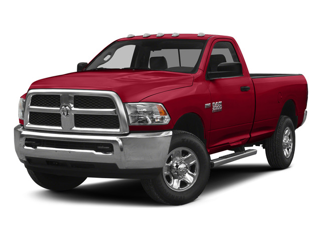 Agriculture Red 2015 Ram Truck 2500 Pictures 2500 Regular Cab SLT 4WD photos front view