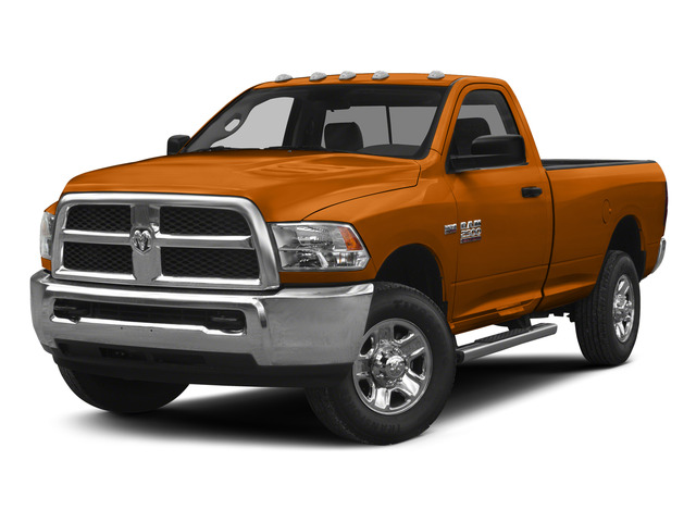Omaha Orange 2015 Ram Truck 2500 Pictures 2500 Regular Cab SLT 4WD photos front view