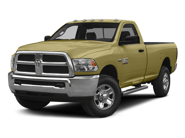Light Cream 2015 Ram Truck 2500 Pictures 2500 Regular Cab SLT 4WD photos front view