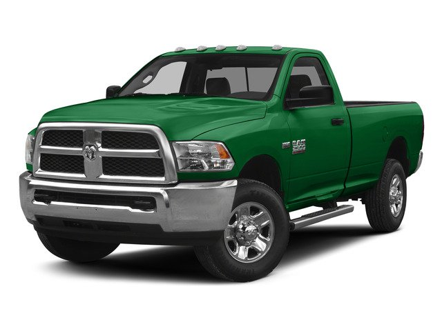 Bright Green 2015 Ram Truck 2500 Pictures 2500 Regular Cab Tradesman 4WD photos front view