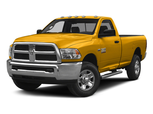 Construction Yellow 2015 Ram Truck 2500 Pictures 2500 Regular Cab Tradesman 4WD photos front view