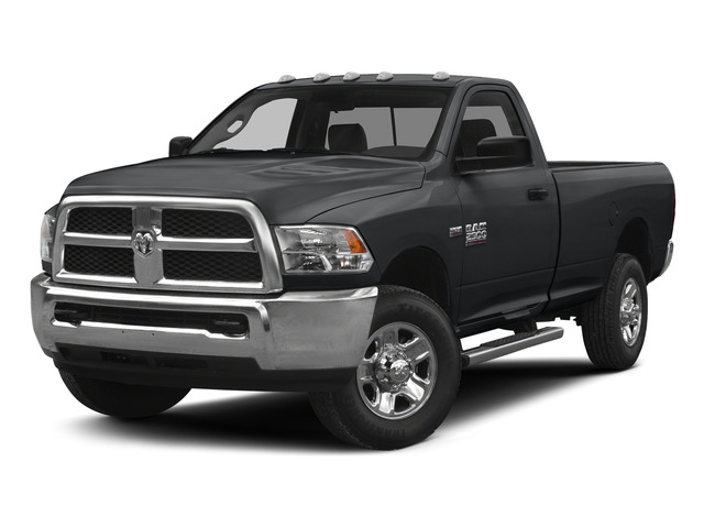 Granite Crystal Metallic Clearcoat 2015 Ram Truck 2500 Pictures 2500 Regular Cab Tradesman 4WD photos front view