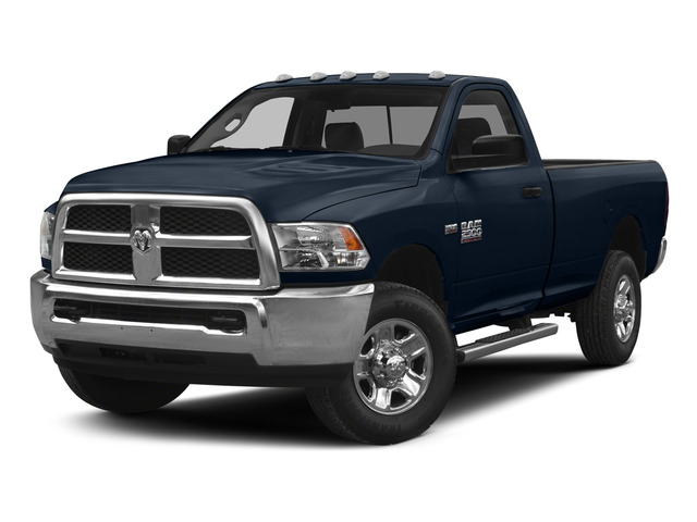 True Blue Pearlcoat 2015 Ram Truck 2500 Pictures 2500 Regular Cab SLT 4WD photos front view