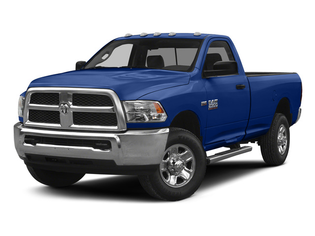 Blue Streak Pearlcoat 2015 Ram Truck 2500 Pictures 2500 Regular Cab SLT 4WD photos front view
