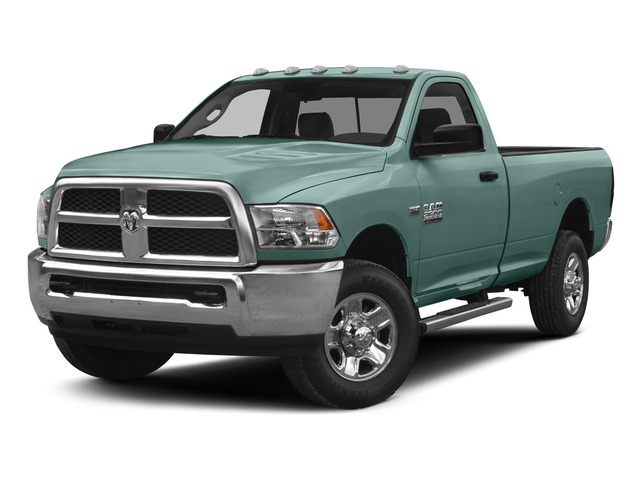 Light Green 2015 Ram Truck 2500 Pictures 2500 Regular Cab Tradesman 4WD photos front view