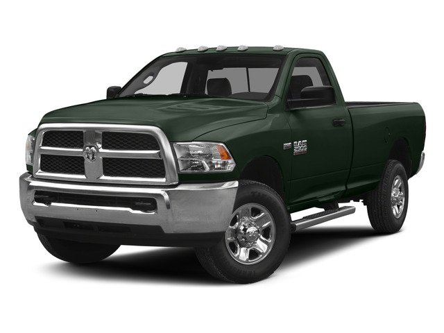 Black Forest Green Pearlcoat 2015 Ram Truck 2500 Pictures 2500 Regular Cab SLT 4WD photos front view