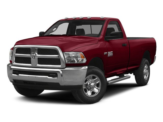 Deep Cherry Red Crystal Pearlcoat 2015 Ram Truck 2500 Pictures 2500 Regular Cab Tradesman 4WD photos front view