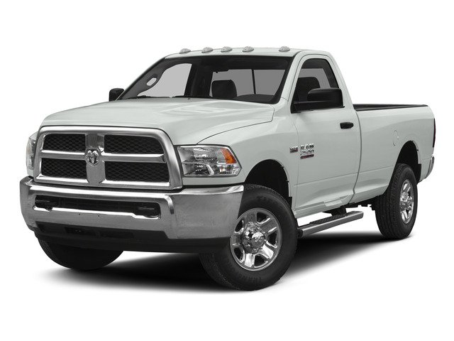 Bright White Clearcoat 2015 Ram Truck 2500 Pictures 2500 Regular Cab SLT 4WD photos front view