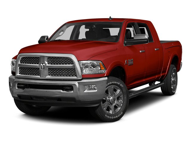 Bright Red 2015 Ram Truck 3500 Pictures 3500 Mega Cab SLT 2WD photos front view