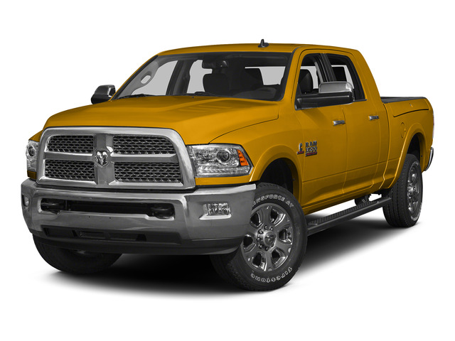 Construction Yellow 2015 Ram Truck 3500 Pictures 3500 Mega Cab SLT 4WD photos front view