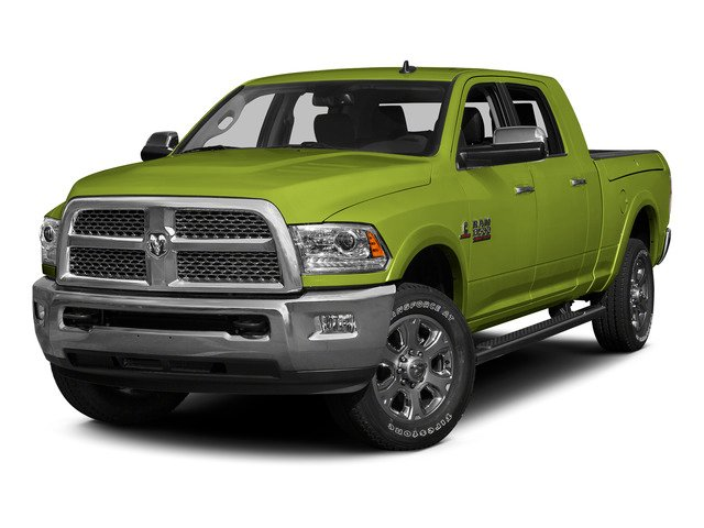 National Safety Yellow 2015 Ram Truck 3500 Pictures 3500 Mega Cab SLT 2WD photos front view