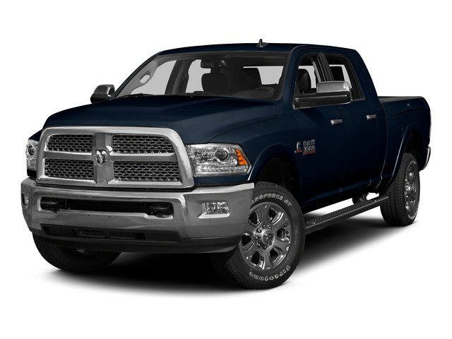True Blue Pearlcoat 2015 Ram Truck 3500 Pictures 3500 Mega Cab SLT 4WD photos front view