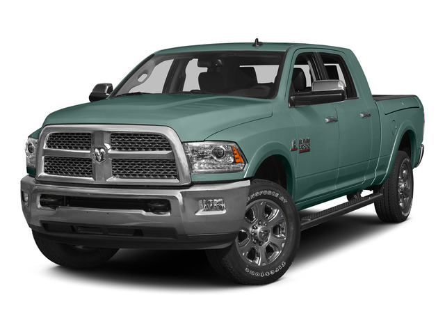Light Green 2015 Ram Truck 3500 Pictures 3500 Mega Cab SLT 2WD photos front view