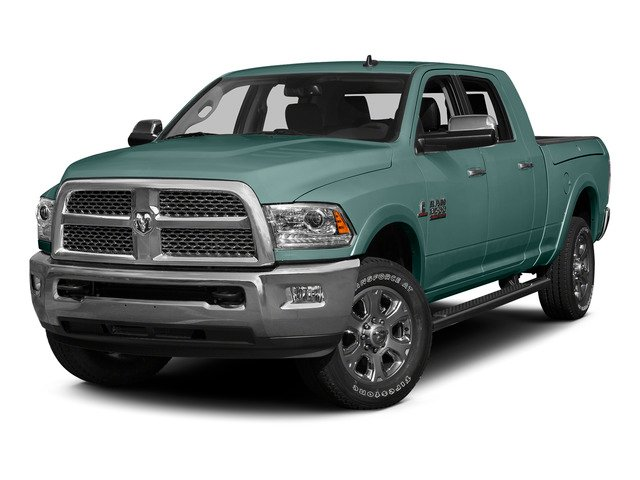 Light Green 2015 Ram Truck 3500 Pictures 3500 Mega Cab SLT 4WD photos front view