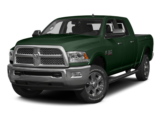 Timberline Green Pearlcoat 2015 Ram Truck 3500 Pictures 3500 Mega Cab SLT 4WD photos front view