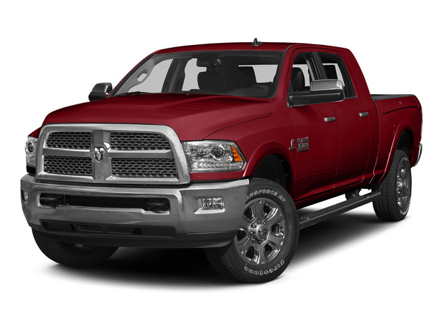 Flame Red Clearcoat 2015 Ram Truck 3500 Pictures 3500 Mega Cab SLT 4WD photos front view