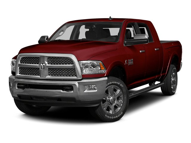 Deep Cherry Red Crystal Pearlcoat 2015 Ram Truck 3500 Pictures 3500 Mega Cab Limited 4WD photos front view