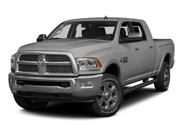 Bright Silver Metallic Clearcoat 2015 Ram Truck 3500 Pictures 3500 Mega Cab SLT 4WD photos front view