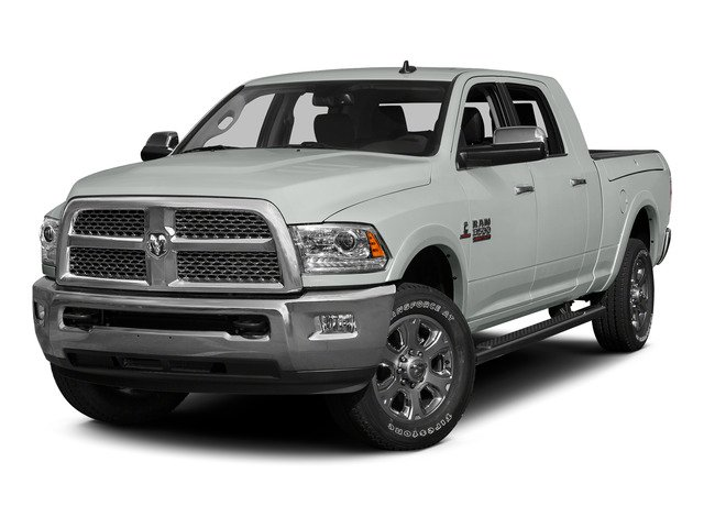 Bright White Clearcoat 2015 Ram Truck 3500 Pictures 3500 Mega Cab Longhorn 4WD photos front view