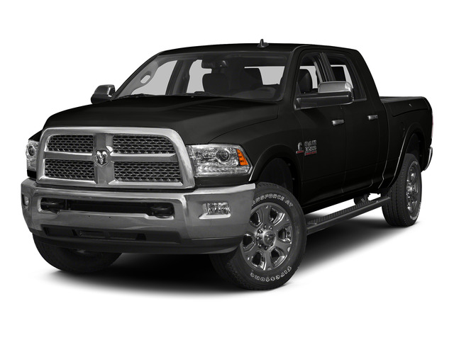 Black Clearcoat 2015 Ram Truck 3500 Pictures 3500 Mega Cab Limited 4WD photos front view