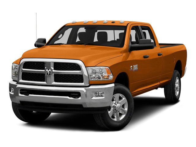 Omaha Orange 2015 Ram Truck 3500 Pictures 3500 Crew Cab SLT 2WD photos front view