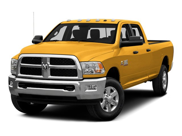 Construction Yellow 2015 Ram Truck 3500 Pictures 3500 Crew Cab SLT 2WD photos front view