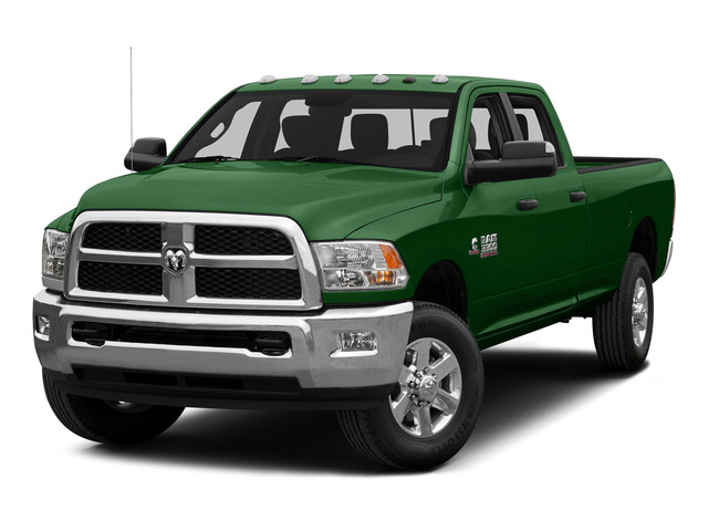 Tree Green 2015 Ram Truck 3500 Pictures 3500 Crew Cab SLT 2WD photos front view