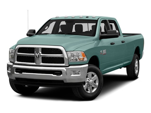 Light Green 2015 Ram Truck 3500 Pictures 3500 Crew Cab SLT 2WD photos front view