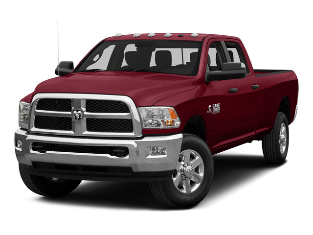 Deep Cherry Red Crystal Pearlcoat 2015 Ram Truck 3500 Pictures 3500 Crew Cab SLT 2WD photos front view