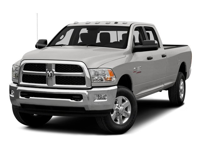 Bright Silver Metallic Clearcoat 2015 Ram Truck 3500 Pictures 3500 Crew Cab SLT 2WD photos front view
