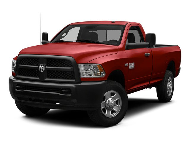 Bright Red 2015 Ram Truck 3500 Pictures 3500 Regular Cab Tradesman 2WD photos front view