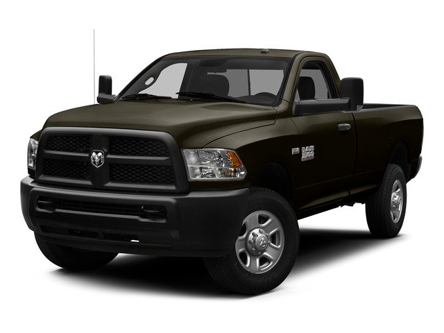 Dark Brown 2015 Ram Truck 3500 Pictures 3500 Regular Cab Tradesman 2WD photos front view