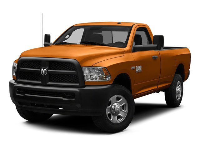 Omaha Orange 2015 Ram Truck 3500 Pictures 3500 Regular Cab Tradesman 2WD photos front view
