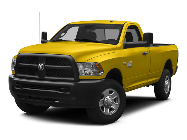 Yellow 2015 Ram Truck 3500 Pictures 3500 Regular Cab Tradesman 2WD photos front view