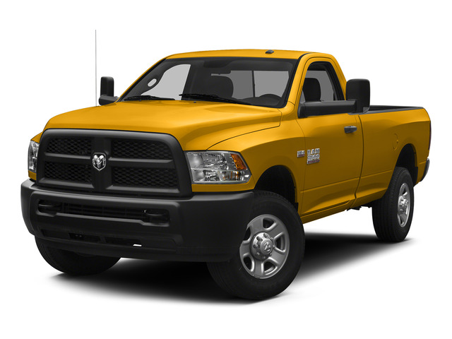 Construction Yellow 2015 Ram Truck 3500 Pictures 3500 Regular Cab Tradesman 2WD photos front view