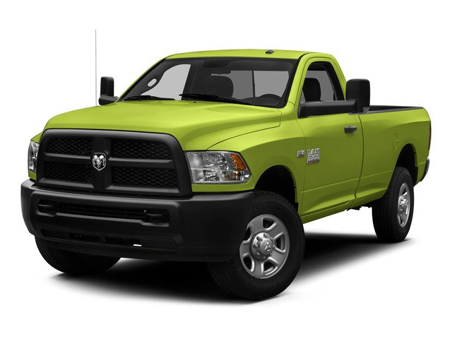 National Safety Yellow 2015 Ram Truck 3500 Pictures 3500 Regular Cab Tradesman 2WD photos front view