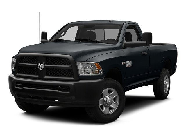 Maximum Steel Metallic Clearcoat 2015 Ram Truck 3500 Pictures 3500 Regular Cab Tradesman 2WD photos front view
