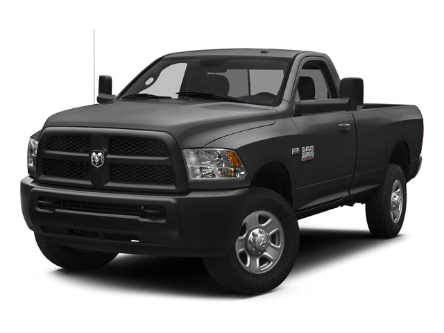 Granite Crystal Metallic Clearcoat 2015 Ram Truck 3500 Pictures 3500 Regular Cab Tradesman 2WD photos front view